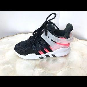 Adidas Black Pink Toddler Sneakers 8K Ortholite